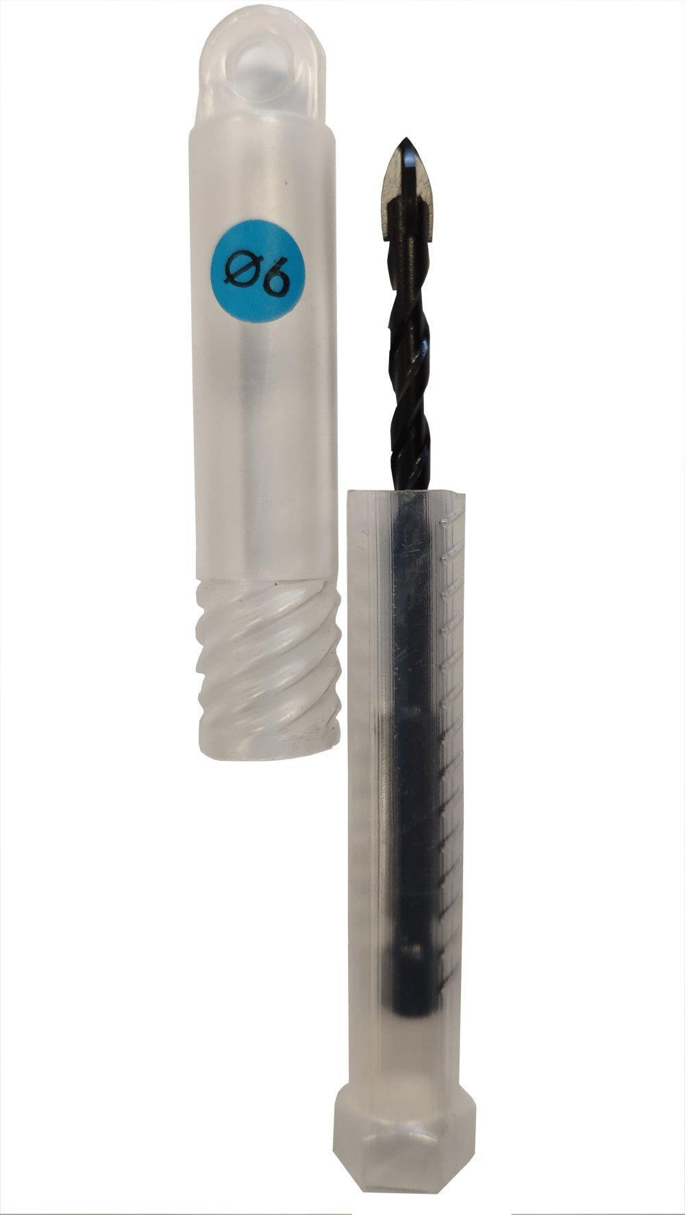 6mm Diamantbohrer, Fliesenbohrer, Steinbohrer, Glasbohrer