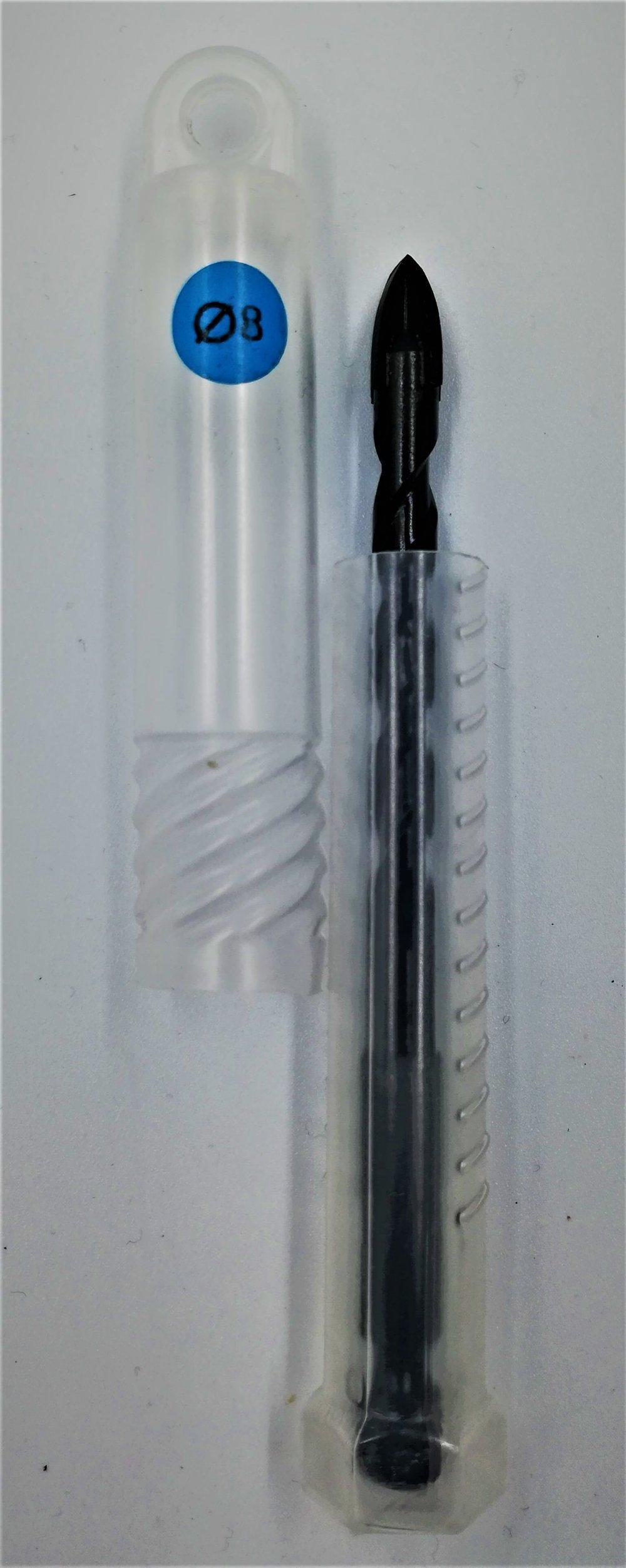 8mm Diamantbohrer, Fliessenbohrer, Glasbohrer